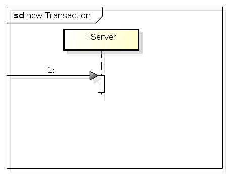 new Transaction (implicit)